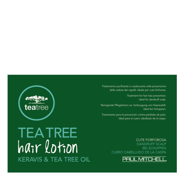 TEA TREE HAIR LOTION 12X6 FIOLE IMP.CADERII PARULUI