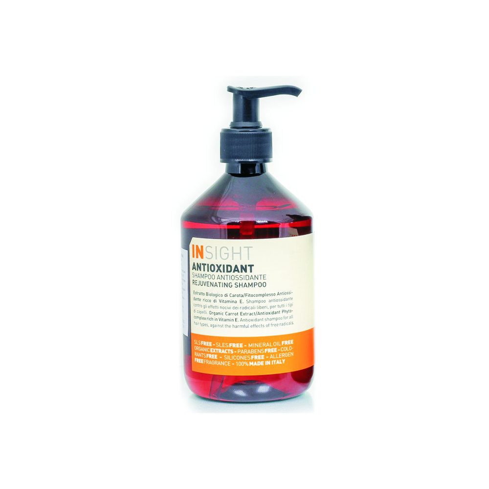 IN REJUVENATING 400ML SAMPON ANTI-OXIDANT CU EXTRACT DE MORCOVI